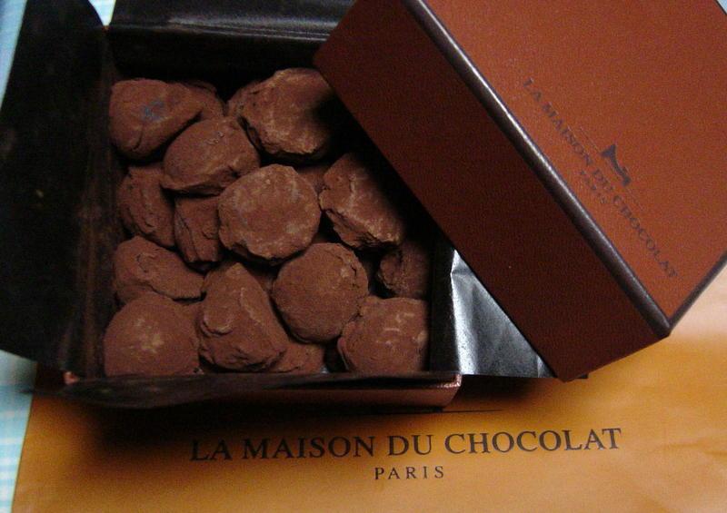 パリ土産のチョコレート