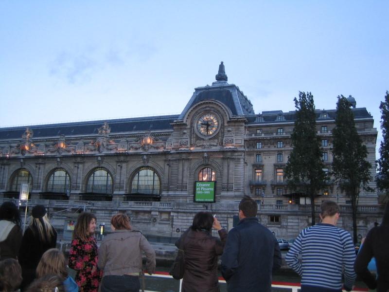 セーヌ河から見たオルセー美術館